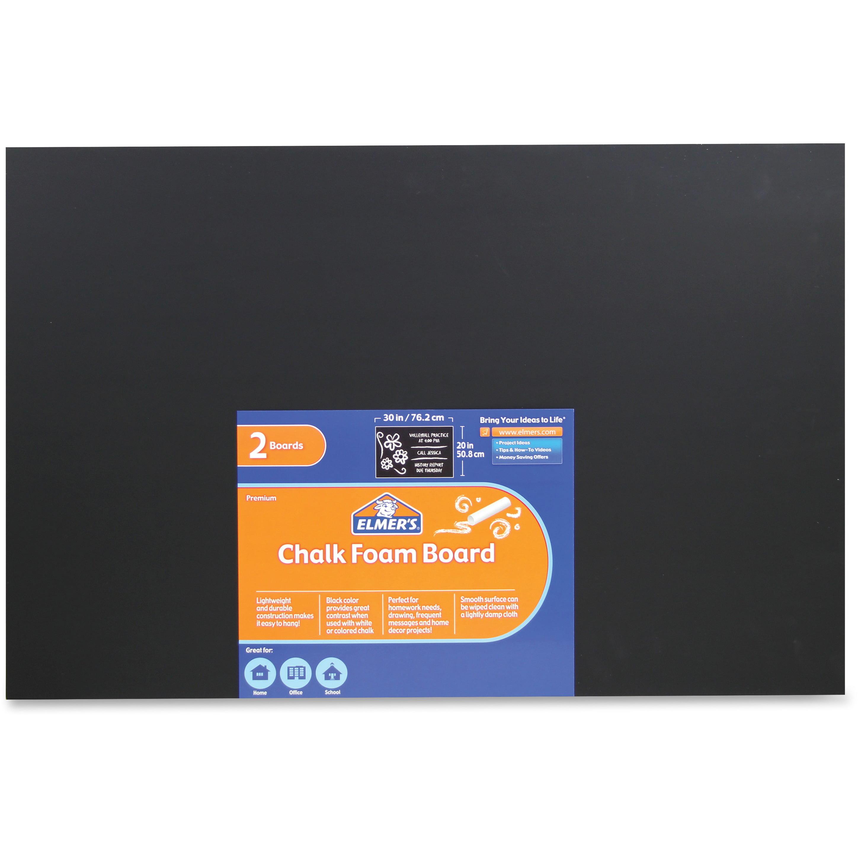 Elmer's, EPI950189, Chalk Foam Boards, 2 / Pack