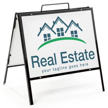 Real Estate A Frame Sandwich Board For 18