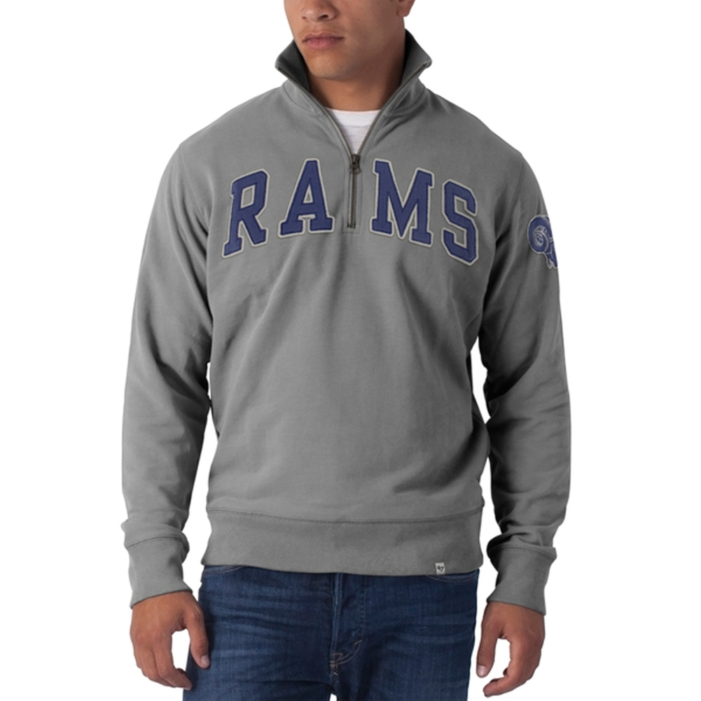 St. Louis Rams - Striker 1/4 Zip Premium Sweatshirt