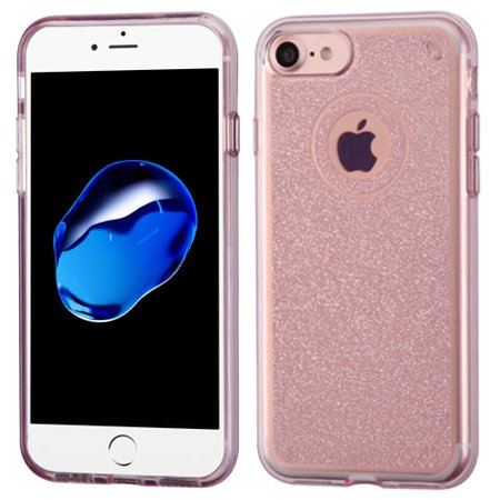 For iPhone 8 7 6s 6 Glitter Bling Premium Phone Shell Candy Skin Case (Bling Skin Case Cover)