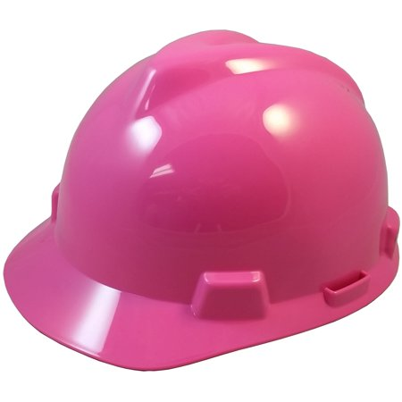 Light Blue Hard Hat (MSA V-Gard One Touch Suspensions Cap Style Hard Hats - Hot)