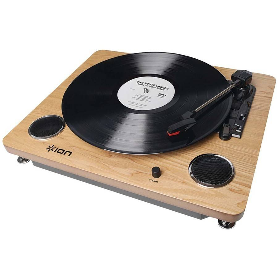 Ion IT53L Archive LP Digital Conversion Turntable with Built-In Speakers by ION Audio