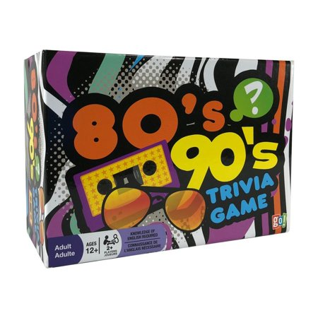 Calendars 80s and 90s Trivia Game for 2 and More Players 1200 Questions / Answer Cards - 12 Years (Halloween Trivia Questions And Answers For Adults)