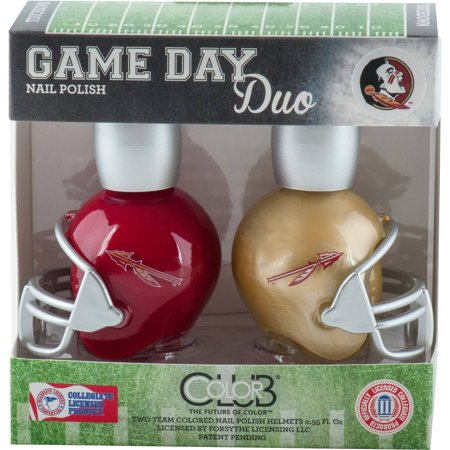 Color Club Polish Game Day Duo Pack Nail Lacquer, Florida State, 0.55 fl oz