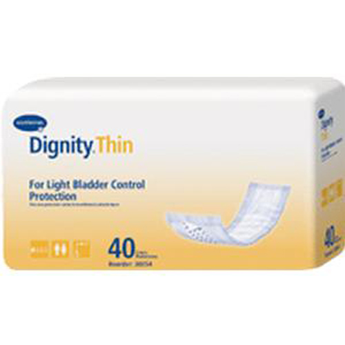 "Lites Thinserts 3-1/2"" x 12"", Absorbency-Pack of 40"