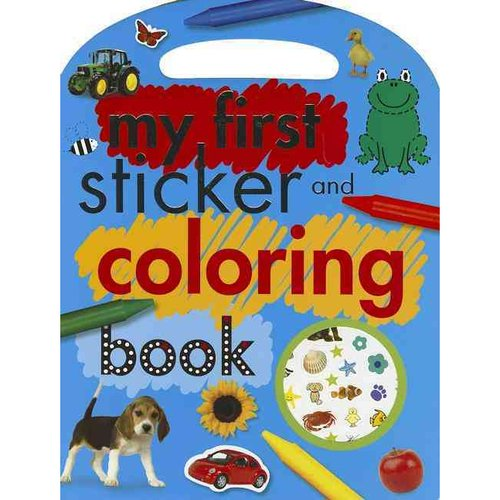 My First Sticker and Coloring Book