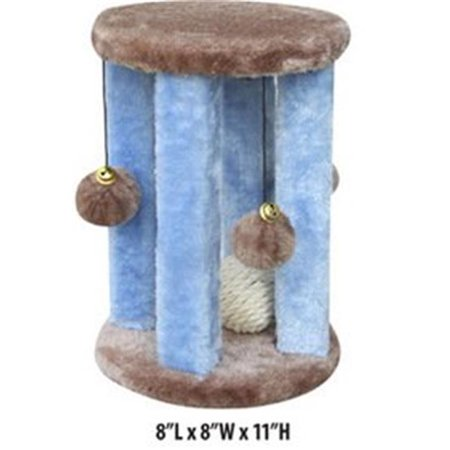 Penn Plax CATF33 Plush Kitten Activity Center With Hanging Swatting Toys - image 1 of 1
