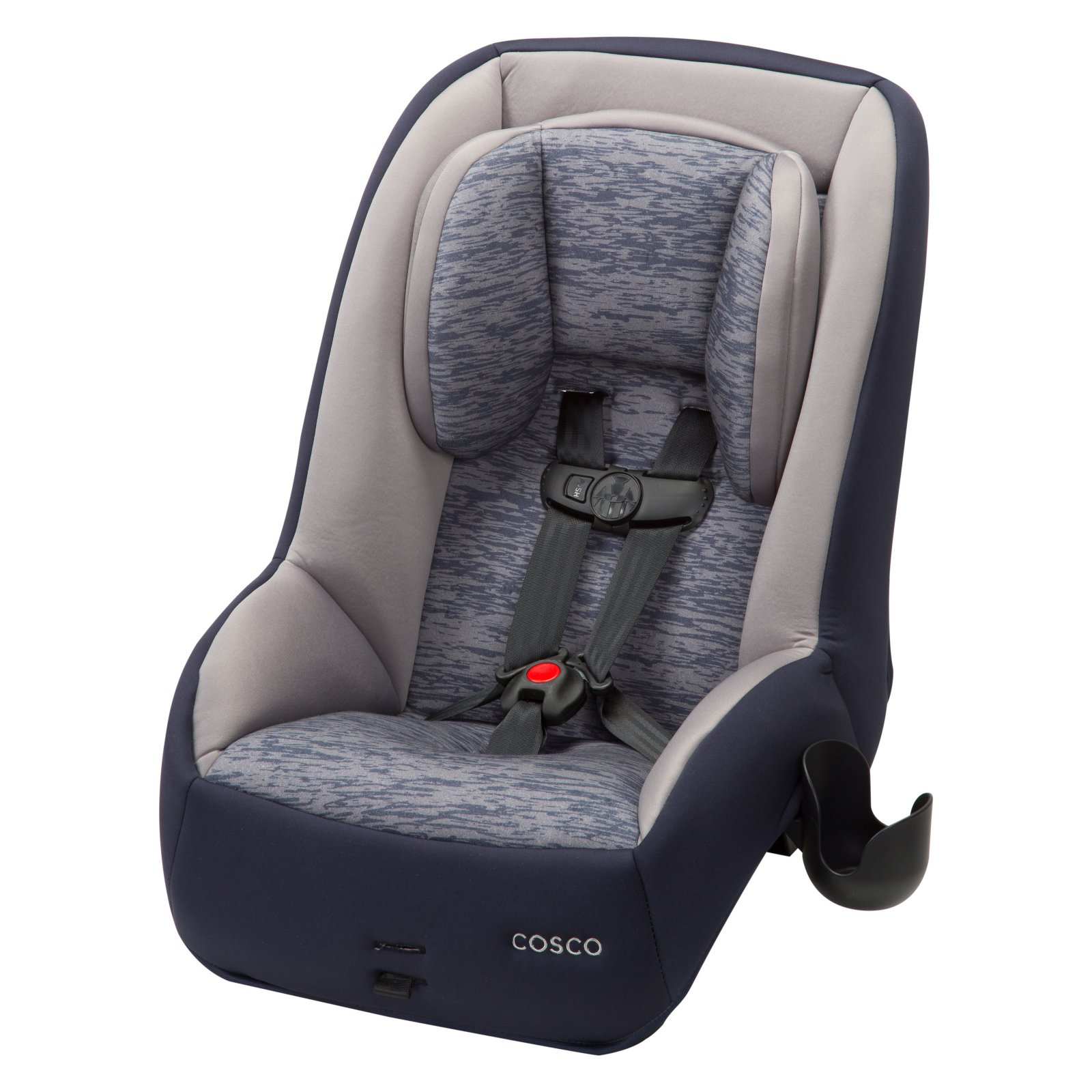 Cosco MightyFit 65 DX Convertible Car Seat - Heather Navy