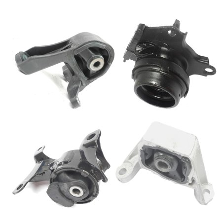 Fits: 2003-2010 Honda Element 2.4L 4WD Engine Motor & Trans. Mount Set 4PCS Manual Transmission 03 04 05 06 07 08 09 10 A4549 A65010 A4573 A4528 08 Honda Fit Carbon