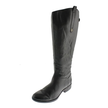 3e09b4d26e7 Sam Edelman Womens Penny 2 Wide Calf Leather Riding Boots