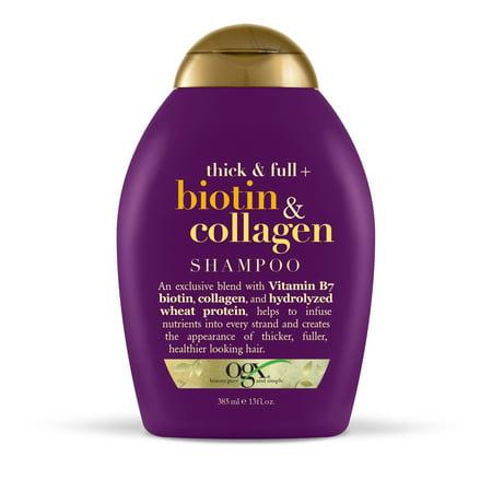 OGX ® épais et pleine Biotine et collagène Shampooing 13 fl. onces. Bouteille Squeeze