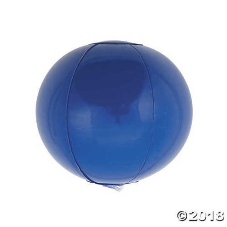 Inflatable Blue Mini Beach Balls