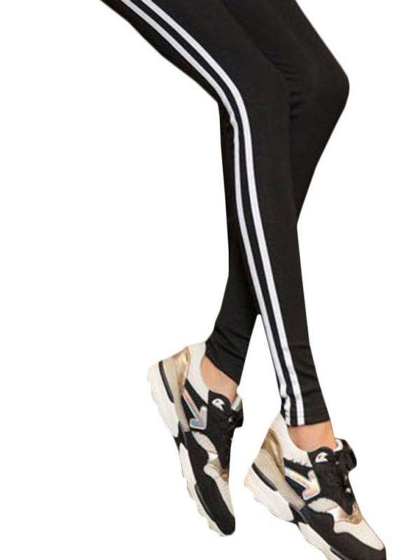OUMY Women Activewear Leggings Pants Mid Waist Jeggings
