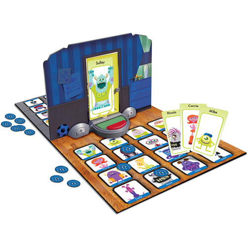 Spin Master Games Disney Monster's University Edition Who's Behind the Door Game