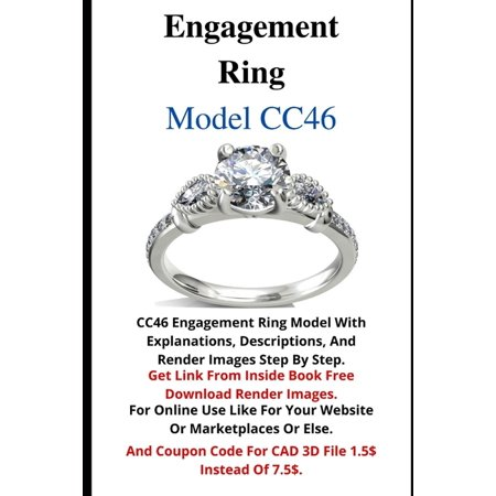 CC: Engagement Ring Model (Paperback) Jewelry engagement ring model its Digital file download able in STL file format which ready for 3d print wax and after giving 3d printed wax to casting house for cast this model or make mold silicone for can injected lost cast waxes . For all in jewelry domains working like jewelry shops, jewelry studios, jewelry manufactures, jewelry suppliers, jewelry wholesalers, jewelry retailers, jewelry designers, jewelry salesman, jewelry clients, jewelry shoppers, jewelry buyers, jewelry lovers and etc.