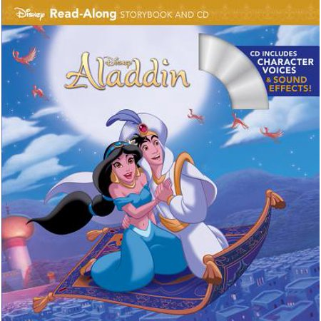 Aladdin Read-Along Storybook and CD - Halloween Read Along Stories