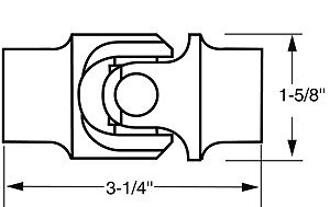 Borgeson 214952 Universal Joint