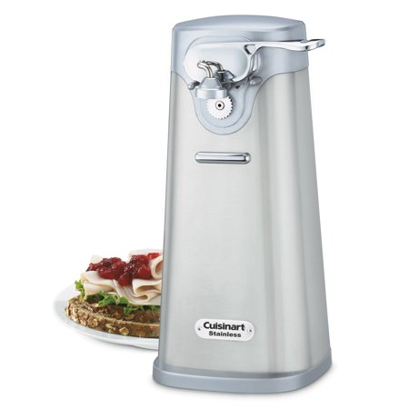 Cuisinart Deluxe Stainless Steel Electric Can Opener (Certified Refurbished)