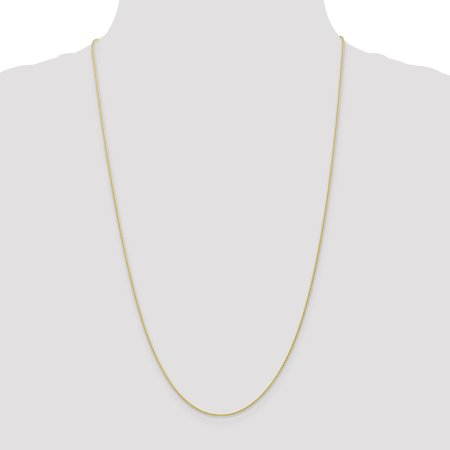 10K Yellow Gold .95mm Parisian Wheat Chain 30 Inch - image 3 of 5
