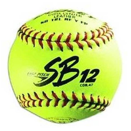 Dudley ASA SB 12L Fastpitch Softball, 12 Pack