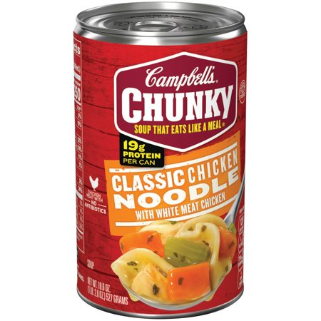 Campbells  Chunky  Classic Chicken Noodle Soup  18 6 Oz