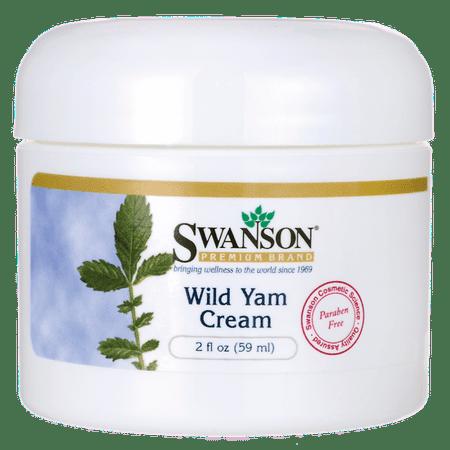 Swanson Wild Yam Cream 2 fl oz Cream