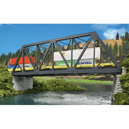 Ho Scale Double Door - Walthers Cornerstone HO Scale Modernized Double-Track Truss Bridge Train Kit