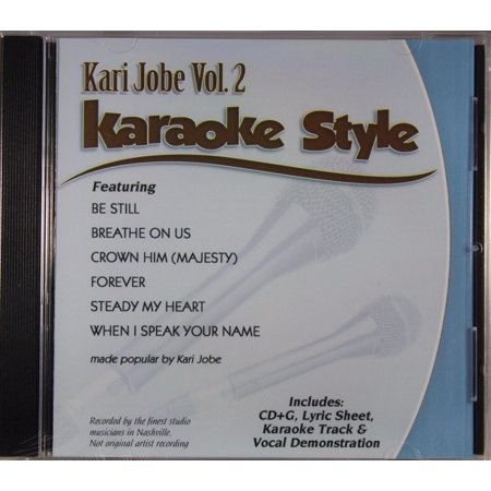 Kari Jobe Volume 2 Daywind Christian Karaoke Style NEW CD+G 6