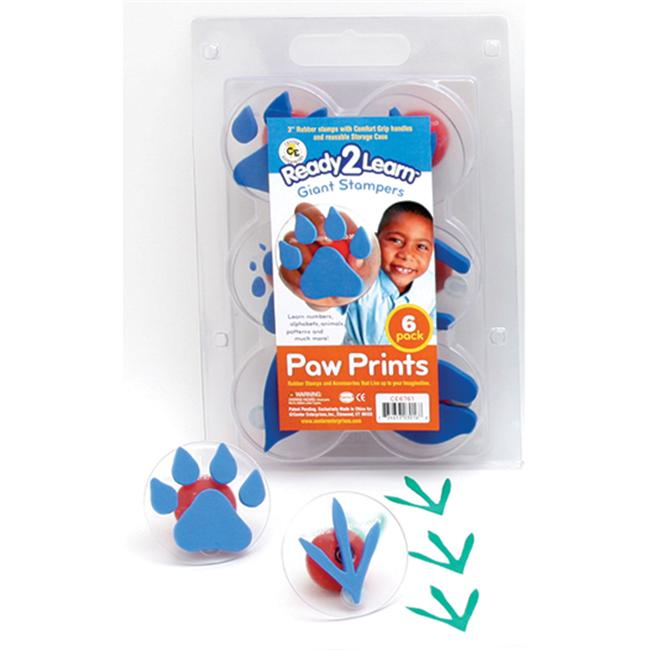 CENTER ENTERPRISES INC.  CE-6761 READY2LEARN GIANT PAW- PRINTS STAMPERS