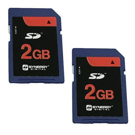 Nikon D50 Digital Camera Memory Card 2x 2GB Standard Secure Digital (SD) Memory Card (1 Twin