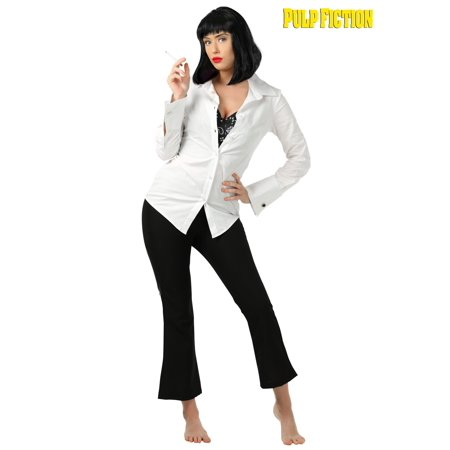 Mya Halloween (Mia Wallace Pulp Fiction Costume for)