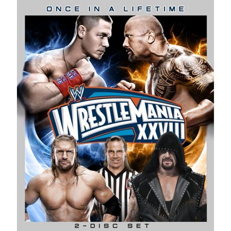 WWE: Wrestlemania XXVIII (Blu-ray) (Undertaker Vs Shawn Michaels Wrestlemania 26 Full Match)