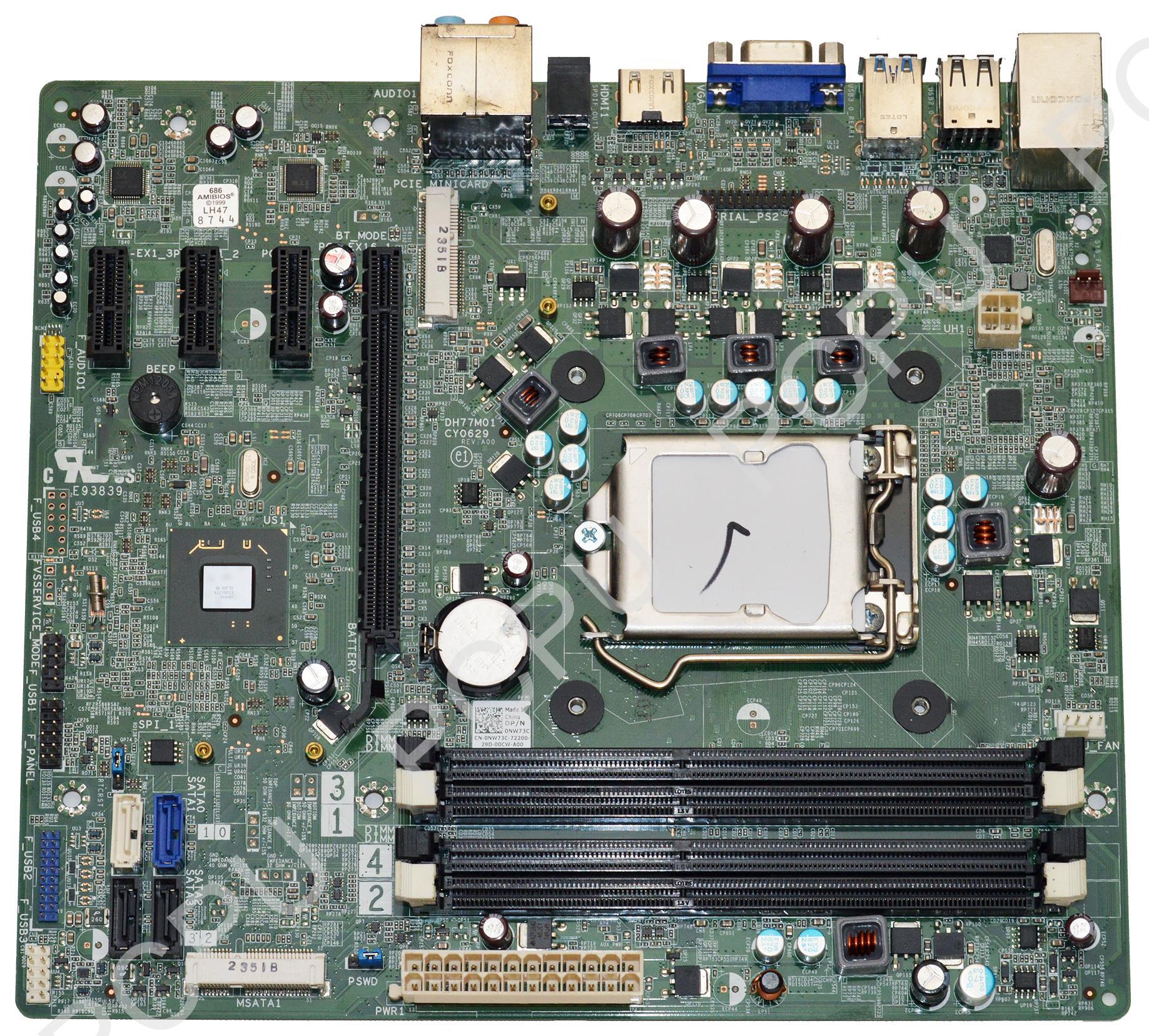 NW73C Dell Studio XPS 8500 Vostro 470 Intel Desktop Mothe...