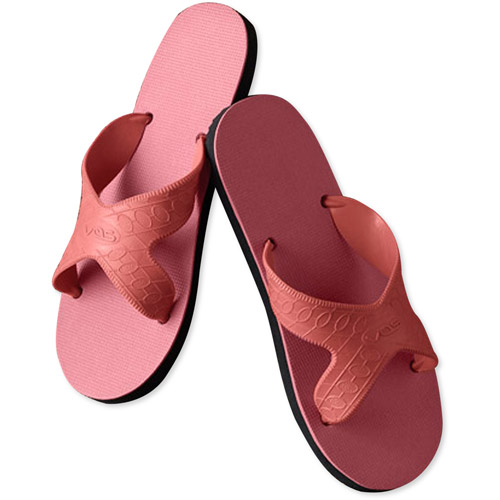 Full Circle Exchange Women's Recyclable Natural Rubber Slide Sandals