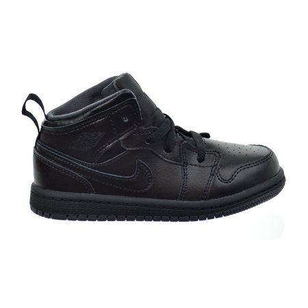 Jordan - Air Jordan 1 Mid BT Toddler s Shoes Black Black Grey 640735 ... 108d0de31