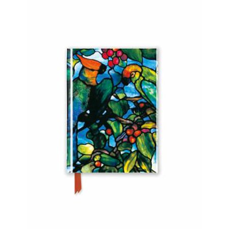Tiffany: Parrots Transom (Foiled Pocket Journal)