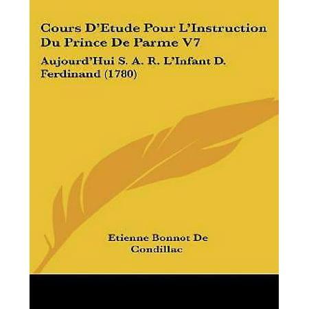 Cours D'Etude Pour L'Instruction Du Prince de Parme V7 - image 1 of 1