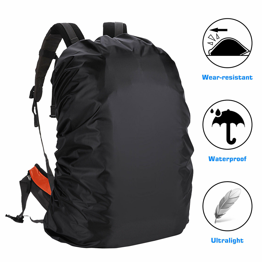 Waterproof 30-45L Backpack Bag Rain Cover Water Resistant Rainproof Cover Pouch