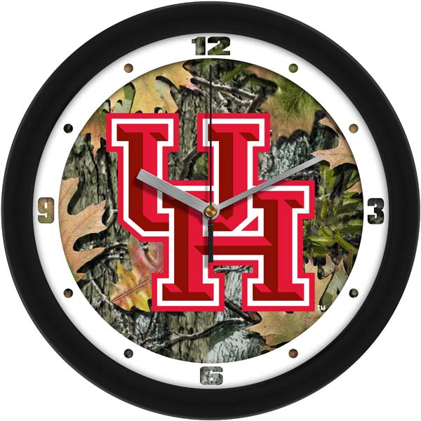 Houston Camo Wall Clock
