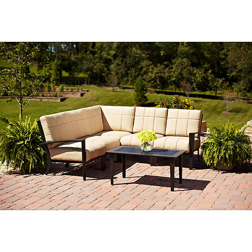 Urban Haven II 6-Piece Outdoor Sofa Sectional, Seats 5