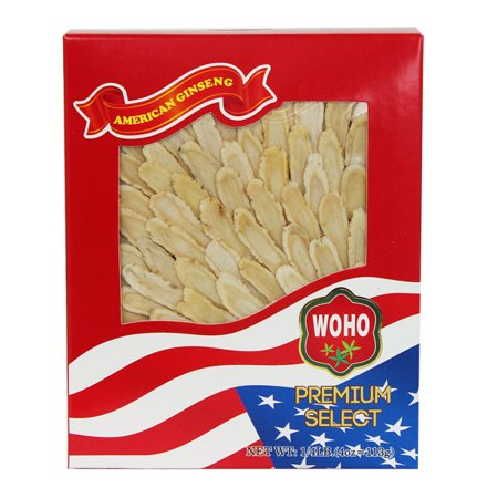 - WOHO #126.4 American Ginseng Slice Medium 4oz Box