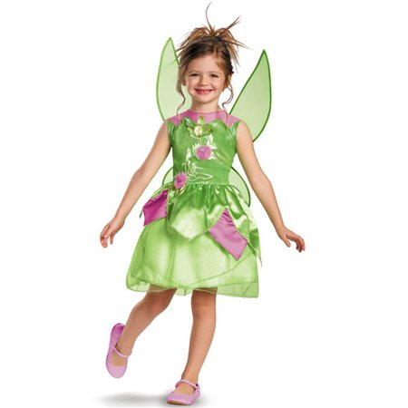 Disney Tinker Bell Toddler Halloween Costume, Size 3T-4T