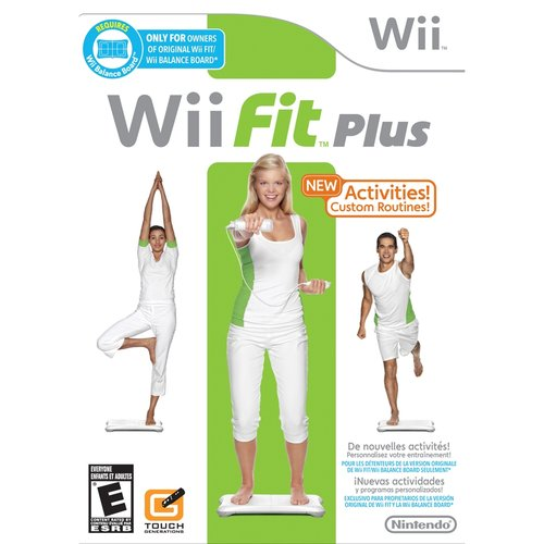Nintendo Wii Fit Plus with Balance Board, 00045496901691