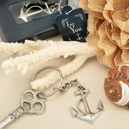 96 Ocean Themed Anchor Key Chain Favor