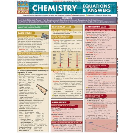 Chemistry Equations & Answers (Chemistry Balancing Chemical Equations Worksheet Answer Key)
