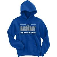 BLUE Penny Hardaway Memphis Tigers 2018 Hooded Sweatshirt ADULT