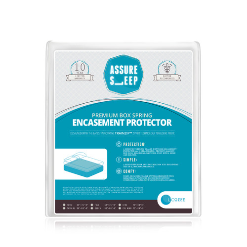 LaCozee Assure Sleep Bed Bug Hypoallergenic Waterproof Mattress Protector