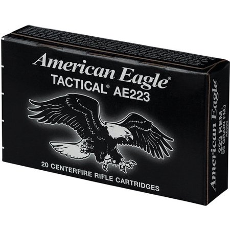 Federal Ammunition American Eagle 223 Rem 55gr Fmj