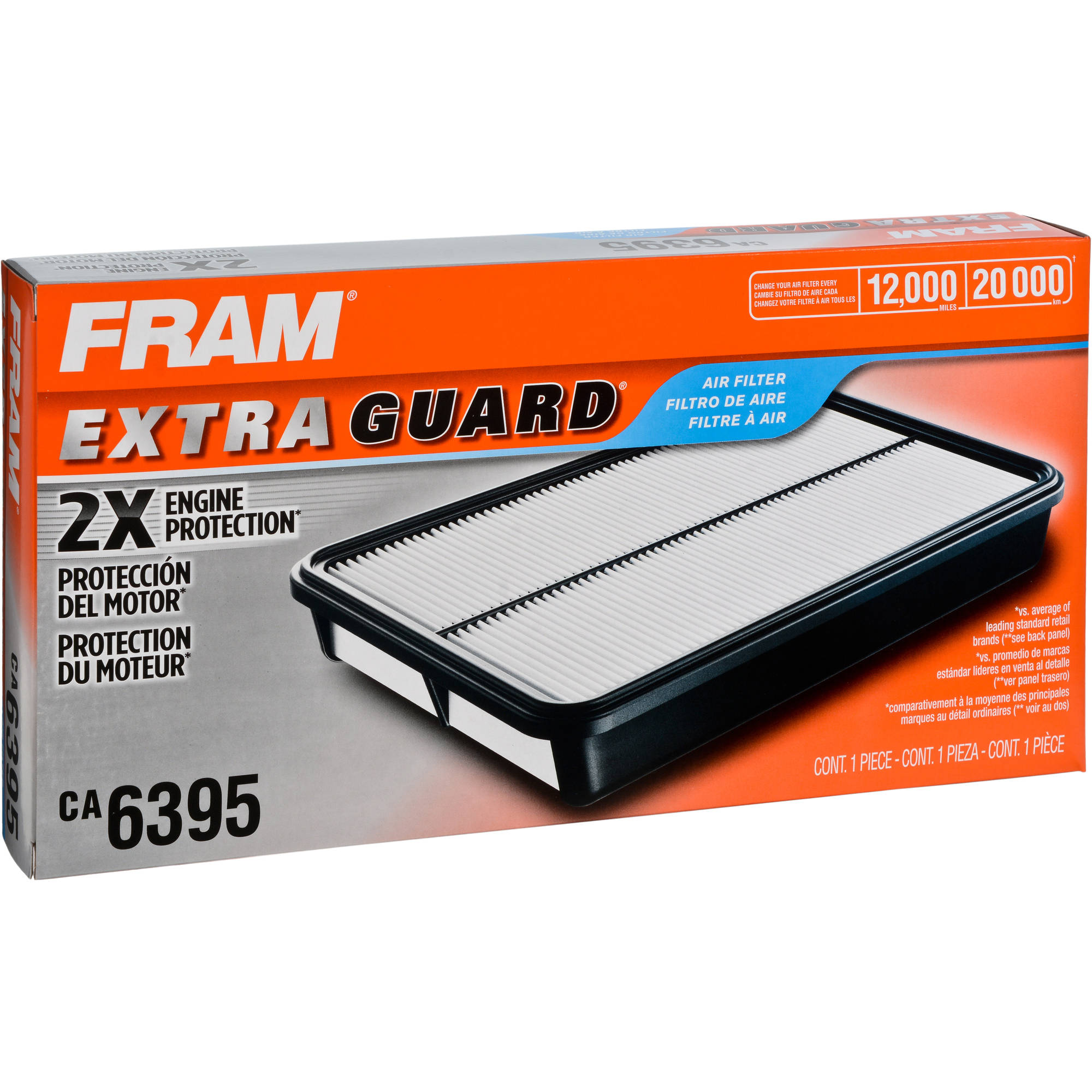 FRAM Extra Guard Air Filter, CA6395