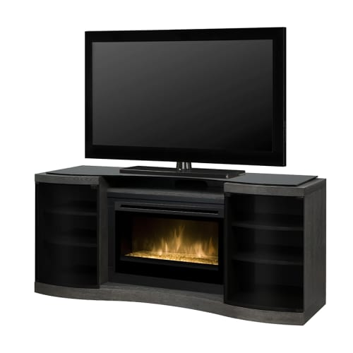 Dimplex GDS33HG-1246 Acton 72 Inch Wide Media Console with 2661 BTU Electric Fir